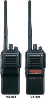 VX-920 Series - Analog - UHF or VHF
